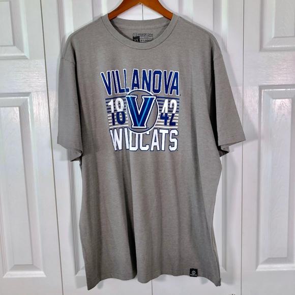 VILLANOVA WILDCATS NCAA LONG SLEEVE LOGO T SHIRT MEN/'S M L XL NWT BLUE